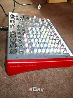 Allen & Heath ZED-10FX Audio Mixer Mixing Desk With USB Audio Interface & FX