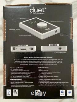 Apogee Duet 2 2 x 4 USB 2.0 Audio Interface MAC/iOS Compatible
