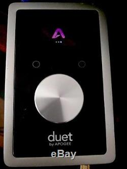 Apogee Duet 2 USB Audio Interface with breakout cable and power supply