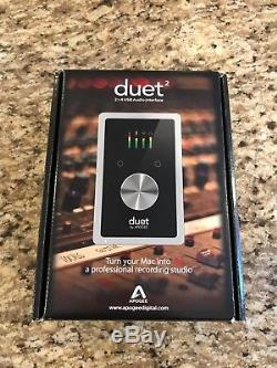 Apogee Duet 2 for Mac USB Audio Interface Excellent