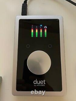 Apogee Duet USB Audio Interface for IOS, Mac Silver/Black