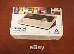 Apogee Quartet 12 IN x 8 OUT USB Audio Interface for Mac and iOS