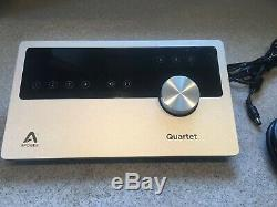 Apogee Quartet 12 IN x 8 OUT USB Professional Audio Interface for Mac and iOS
