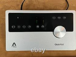 Apogee Quartet USB Audio MIDI Interface for iPad & Mac TOP condition High End