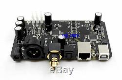 Assembled XU208 XMOS USB Audio Digital Interface XLR/AES/fiber/coaxial