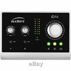 Audient iD14 10 In 4 Out USB Audio Interface With Scroll Control