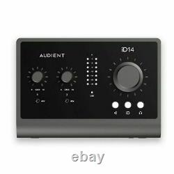 Audient iD14 MKII 10-In 6-Out High Performance USB Audio Interface With Scrol
