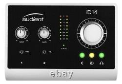 Audient iD14 USB Audio Interface And Monitor Controller (NEW)