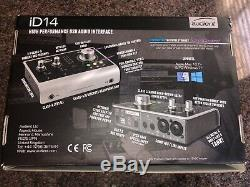 Audient iD14 USB Audio Interface Barely Used. Great Condition! With Box