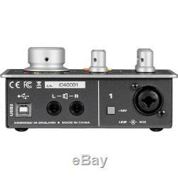 Audient iD4 High-Performance USB Audio Interface Open BOX