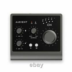 Audient iD4 MKII 2-In 2-Out High Performance USB Audio Interface With Scroll