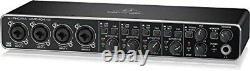 BEHRINGER 4 inputs 4 outputs MIDI/USB audio interface UMC404HD U-PHORIA