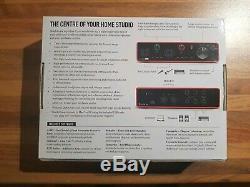 BRAND NEW Focusrite Scarlett 4i4 Third Generation USB C Audio Interface