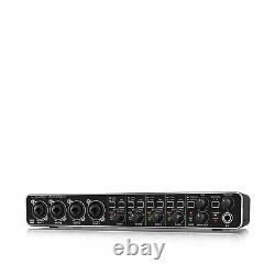 Behringer Audio Interface MIDI 4x4 USB 2.0 24 Bit Mic Pre Amplifiers UMC404HD
