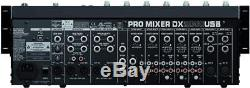 Behringer DX2000USB Professional 7-Channel DJ Mixer with USB Audio Interface 2DAY