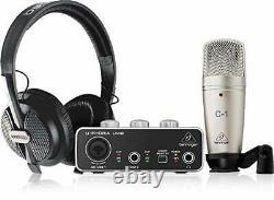 Behringer Recording / podcasting bundle set U-PHORIA STUDIO