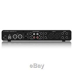 Behringer UMC404HD Audiophile 4x4 USB Midi Audio Interface Brand New UNOPENED