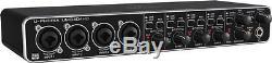 Behringer UMC404HD U-Phoria 4x4 USB Audio Interface 4-Midas mic preamps