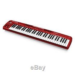 Behringer U-CONTROL UMX610 61-Key USB MIDI Controller Keyboard + Audio Interface
