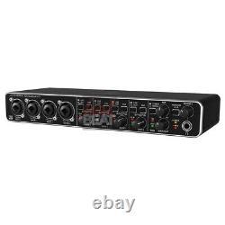 Behringer U-PHORIA UMC404HD USB 2.0 Audio/MIDI Interface MIDAS-designed Preamps