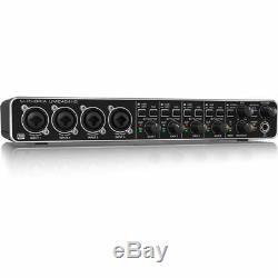 Behringer U-Phoria UMC404HD Studio Recording USB Audio MIDI Interface Mac PC
