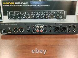 Behringer U-Phoria UMC404HD USB Audio/MIDI Interface Black