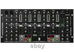 Behringer VMX1000USB Pro 7-Channel Rack-Mount DJ Mixer with USB/Audio Interface