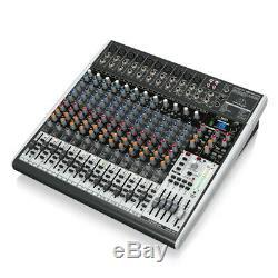 Behringer X2442USB Mixer 24 Input Mixing Desk USB Audio Interface Multi FX Studi
