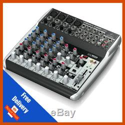Behringer XENYX Q1202USB Premium 12 Input 2 Bus Mixer with USB/Audio Interface