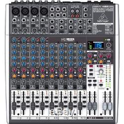 Behringer Xenyx X1622 USB 16-Channel 2/2 Bus Mixer With USB Audio Interface