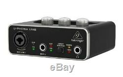 Bellinger USB audio interface UM2 2x2 Black DTM DAW genuine from JAPAN