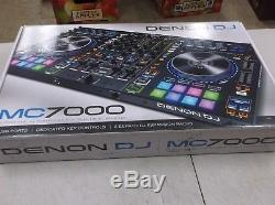 Denon DJ MC7000 Premium 4-Channel DJ Controller/Mixer Dual USB Audio Interfaces