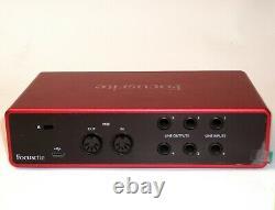 Focusrite AMS-SCARLETT-4I4-3G Scarlett 4i4 USB 3rd Gen Audio Interface