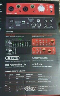 Focusrite Clarett 2Pre USB Audio Interface