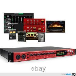 Focusrite Clarett 8Pre USB 18-In, 20-Out Audio Interface + Plugin Suite