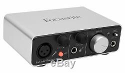 Focusrite ITRACK SOLO LIGHTNING USB Audio Recording Interface For iPad/Mac