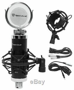 Focusrite SCARLETT 18I20 2nd G USB Audio Interface+Boom+Mic+Headphones+Cables