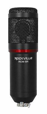 Focusrite SCARLETT 18I20 3rd Gen USB Audio Recording Interface+Mic+40 Boom Arm