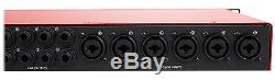 Focusrite SCARLETT 18I20 MK2 192kHz USB 2.0 Audio Interface with Pro Tools First