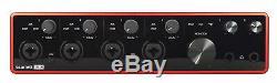 Focusrite SCARLETT 18I8 3rd Gen USB Audio Recording Interface+Studio Headphones