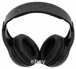 Focusrite SCARLETT 2I2 3rd Gen 192KHz USB Audio Interface+Samson Headphones