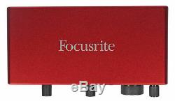 Focusrite SCARLETT 2I2 3rd Gen 192KHz USB Audio Interface with Pro Tools First