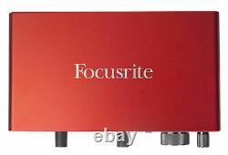 Focusrite SCARLETT 4I4 3rd Gen 192KHz USB Audio Recording Interface+Headphones