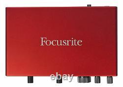 Focusrite SCARLETT 8I6 3rd Gen 192KHz USB Audio Interface with Pro Tools First