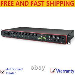 Focusrite Scarlett 18I20 3rd Gen USB Audio Recording Interface, 192kHz
