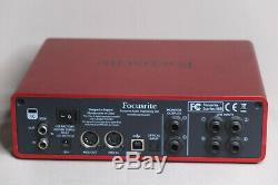 Focusrite Scarlett 18I8 18 IN 18 OUT USB2.0 AUDIO INTERFACE