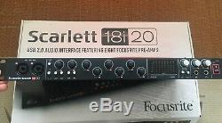 Focusrite Scarlett 18i20 1st Gen USB Audio Interface Red