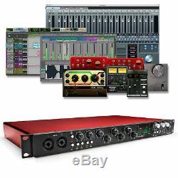 Focusrite Scarlett 18i20 (2nd Gen) USB 2.0 Audio Interface + Pro Tools & Ableton