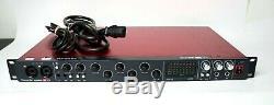 Focusrite Scarlett 18i20 USB Audio Interface 8 XLR Mic / Line 1st Gen READ