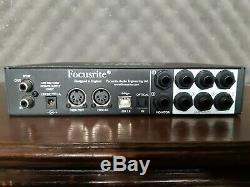 Focusrite Scarlett 18i6 USB Audio Interface with power supply